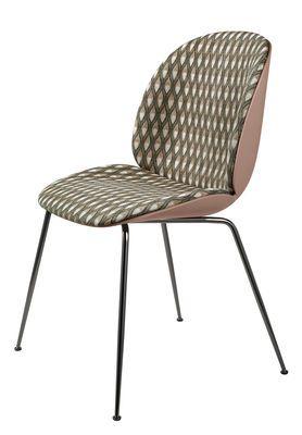 Chaise Rembourree Beetle Gamfratesi Plastique Tissu Gubi Stuhle Stuhl Polstern Kunststoff