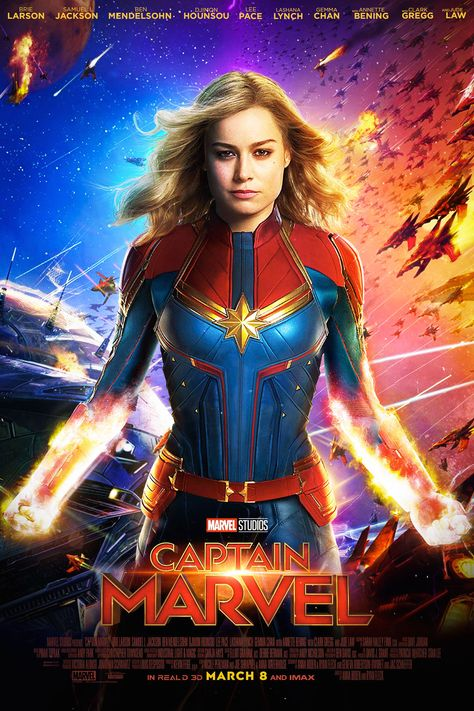 Captain Marvel Movie (2019) Wallpapers HD, Cast, Release Date, Powers & Posters