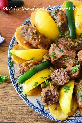 Tajine Merguez Cuisine Tunisienne Recette Cuisine Tunisienne