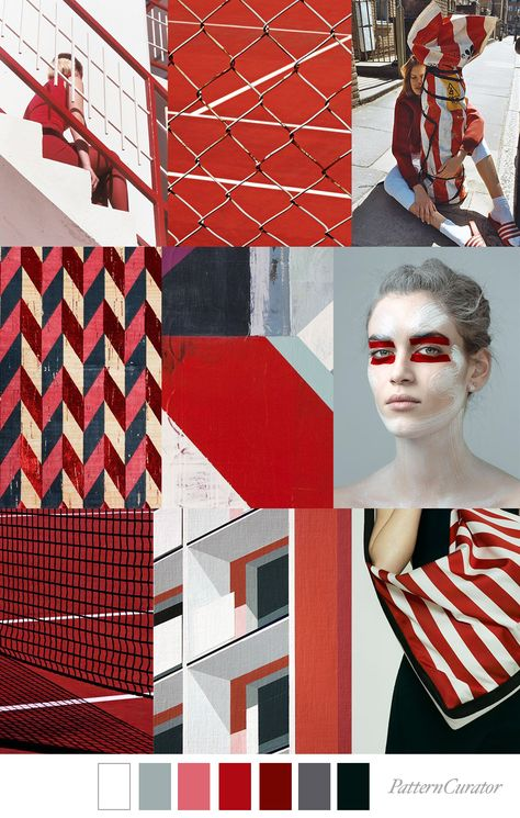 BIG RED - color, print & pattern trend inspiration for FW 2019 by ...