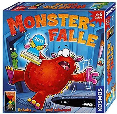 Kosmos 680305 Monster Falle Amazon De Spielzeug Gesellschaftsspiele Fur Kinder Familienspiele