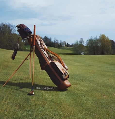 Hickory Golf Style Bag Stand for Modern and Hickory Golfers - Steurer & Jacoby
