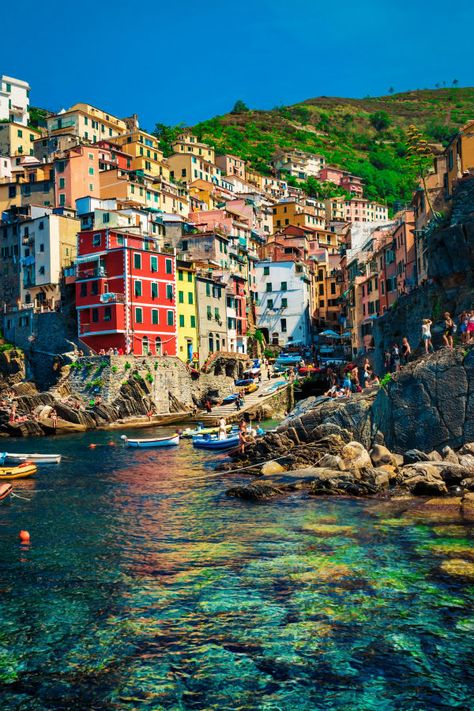Riomaggiore in Cinque Terre, Italy Poster Beautiful Places In The World, Beautiful Places To Visit, Places Around The World, Places To See, Amazing Places, Cinque Terre Italy, Italy Italy, Places In Italy, Travel Aesthetic