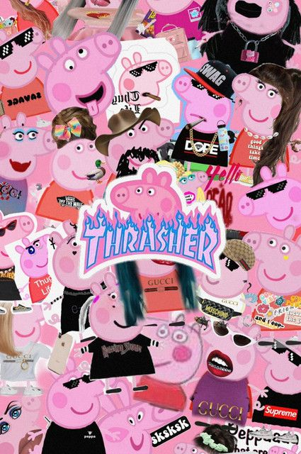 Getto Teens Music Playlist By Caitlingurly Spotify In 2021 Peppa Pig Wallpaper Pig Wallpaper Girl Iphone Wallpaper