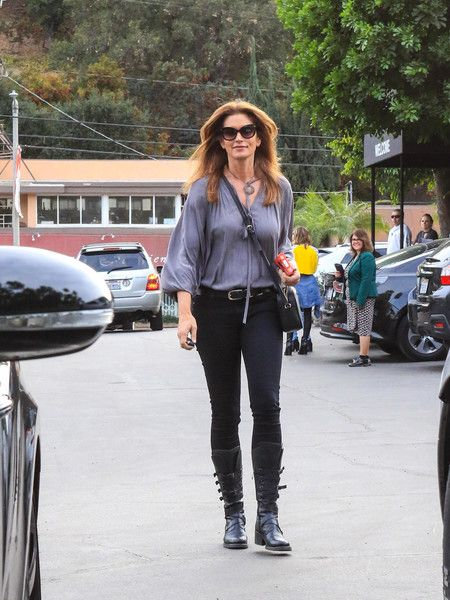 Cindy Crawford is seen.