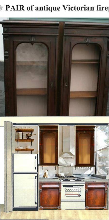 diy repurposed kitchen cabinets kitchen cosas en madera rh pinterest es