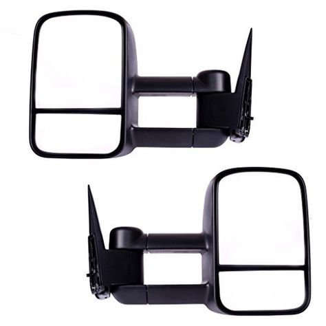DEDC Towing Mirrors for Chevy Silverado 1500 2500 3500 Side View Mirrors 2003-2006 Chevy Silverado GMC Sierra Power Heated Foldable Pair
