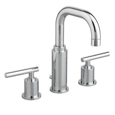 American Standard Serin Double Handle Widespread Bathroom Faucet Finish Polished Chrome Widespread Bathroom