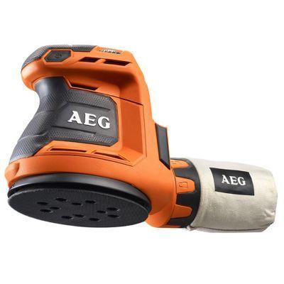 Ponceuse Excentrique Aeg Pro Bex18125 0 125 Mm 18v Sans Batterie En 2020 Ponceuse Excentrique Et Batterie