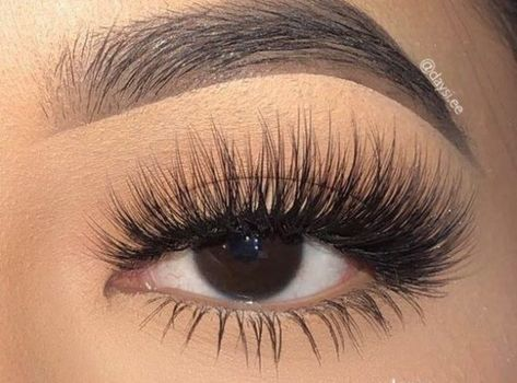 Luxury Faux Mink Lash Lashes are handmade, they will differ slightly in detail from pair to pair. Average Wear: Usages (Depending on care) Comes with 1 pair of lash. Lash Glue NOT included. Best False Lashes, Fake Lashes, False Eyelashes, Eyelash Extensions Styles, Volume Lash Extensions, Eyelash Sets, Applying Eye Makeup, Magnetic Lashes, Flawless Makeup