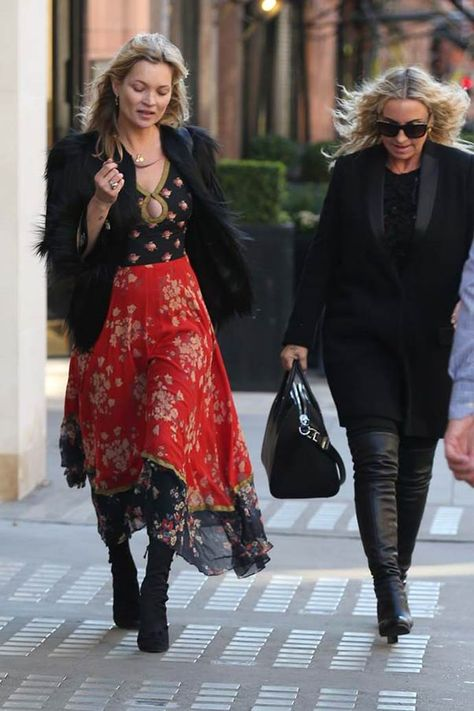 At 44, supermodel Kate Moss' style has never looked better. We chart the best off-duty style moments from the fashion industry icon, since she turned 40 in 2014.