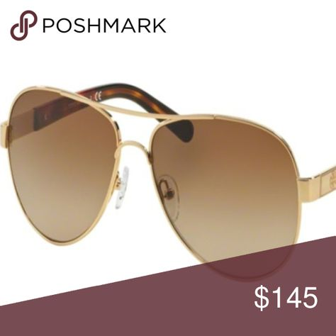 19b1c489f509f NWT Tory Burch TY 6010 420 13 Gold Sunglasses Brand  Tory Burch Model  TY  6010 Color  420 13 Gold Block Size   57mm-14mm-135mm Gender  Women  Condition  New ...