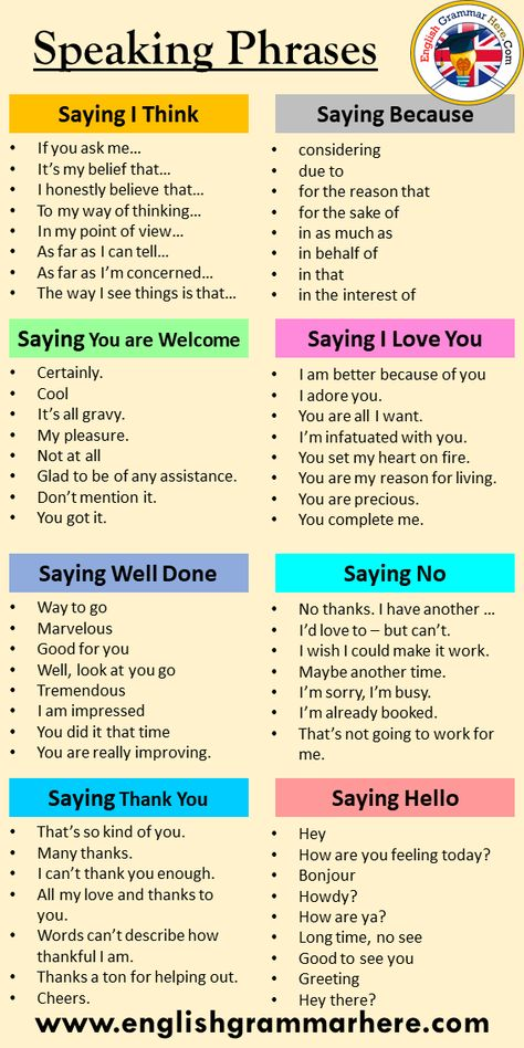 English Speaking Phrases and Tips 1000 most common english phrases pdf Table of Contents Asking Directions in EnglishGiving Directions in EnglishWays to Say NO in EnglishWays to Say I MISS YOUPhrases for Staying at a HotelWays to Say FOR EXAMPLEEnglish Classroom PhrasesWays to Say HELLOPhrases in ShoppingWays to Say GOOD LUCKWays to Say GOOD JOBWays to Say I AGREEWays to Say I'M SORRYWays to Say GOOD NIGHTWays to Say I LOVE YOUWays to Say BECAUSEWays to Say I DON'T KNOWEnglish Phrases – How to