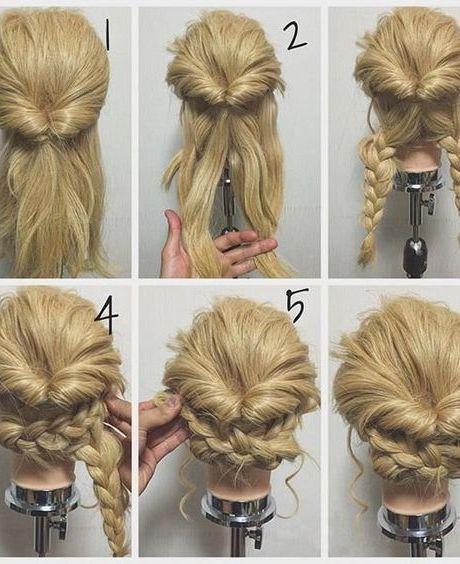 60 Easy Step By Step Hair Tutorials For Long Medium Short Hair Her Style Code In 2020 Hair Styles Long Hair Styles Long Hair Updo