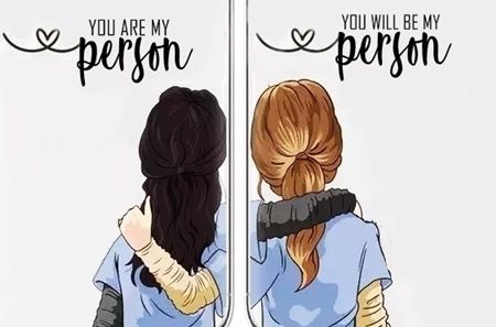 You Are My Person Anatomia De Grey Personajes Historieta De Amor Anatomia De Grey