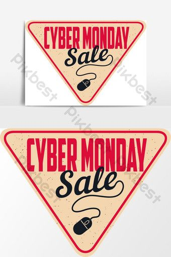 Cyber Monday With White Vector Graphic Element Png Images Ai Free Download Pikbest Cyber Monday Design Cyber Cyber Monday Shopping