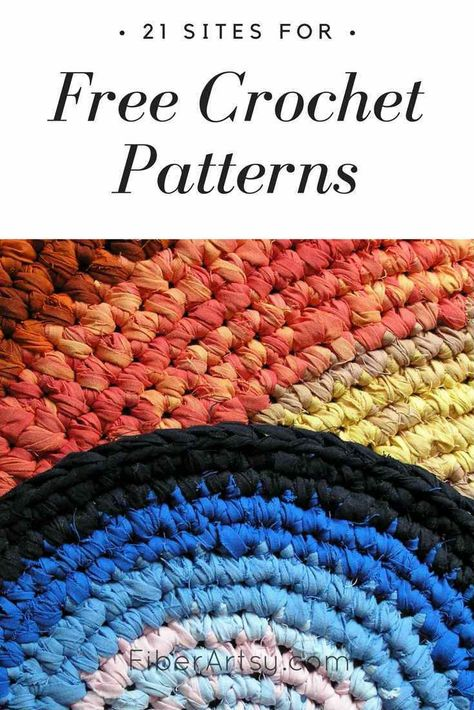 21 Sites For Free Crochet Patterns Diy Parties Events And