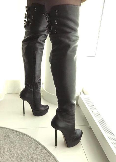 ebay.itschrubycloem.html | Leather thigh high