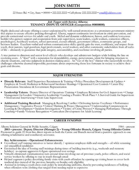 Senior Educational Administrator Resume Template Premium Resume - government resume