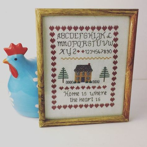 embrodiery Found this cross stitch at the...