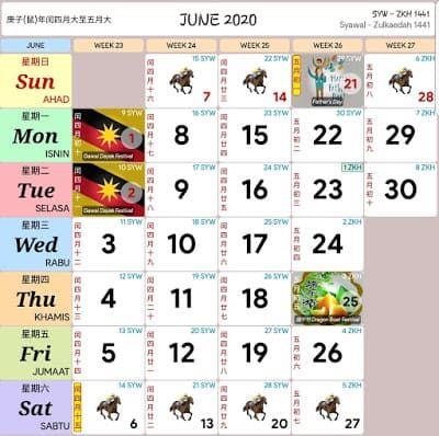 Kalendar 2020 Cuti Umum Dan Cuti Sekolah Malaysia Calendar 2020 Calendar Marketing Calendar Template