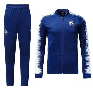 Chelsea 2018 19 Top Blue Training Jacket Kit M598 Jersey Jacket Training Tops Chelsea Soccer