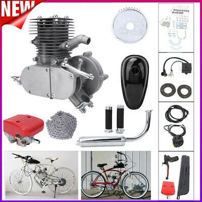 Details About 100cc 2 Stroke Bike Cycle Engine Motor Kit Petrol