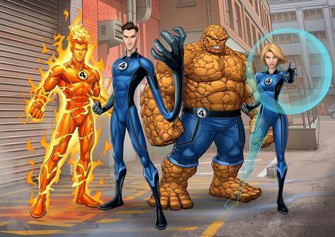 Fantastic Four Marvel, Mister Fantastic, Marvel Characters, Marvel Heroes, Fictional Characters, Hulk Vs Superman, Superhero Art Projects, Marvel Concept Art, Marvel Animation