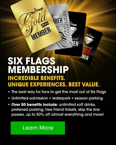 2018 Memorial Day Season Pass Sale Six Flags Great America Great America Six Flags Six Flags America