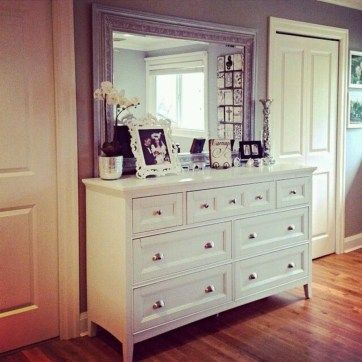Simple Yet Stylish Ikea Hemnes Dresser Ideas For Your Home 05 Dresser Decor Bedroom Home Interior