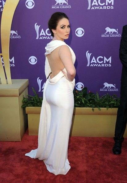 Hannah Blaylock In Jean Fares Couture, 2012 - The Most Daring Dresses Ever Worn At The Academy Of Country Music Awards - Photos