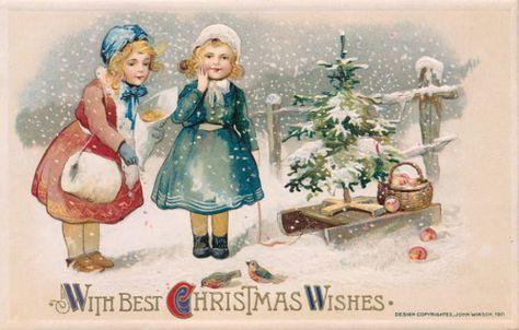 Épinglé par Kellie Simpson sur Vintage Christmas Postcards