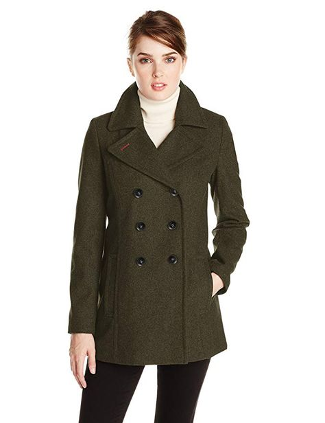 Tommy Hilfiger Womens Double Ted, Tommy Hilfiger Peacoat Women S