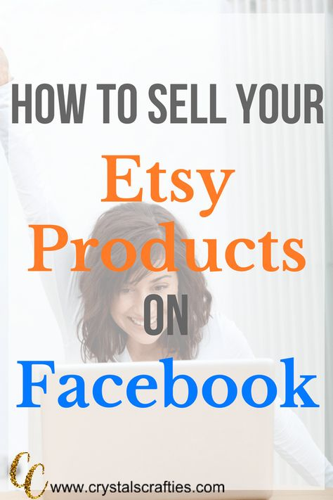 Selling your Etsy products on Facebook