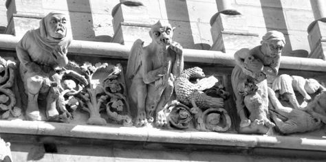 Image Result For Gothic Gargoyles And Grotesques