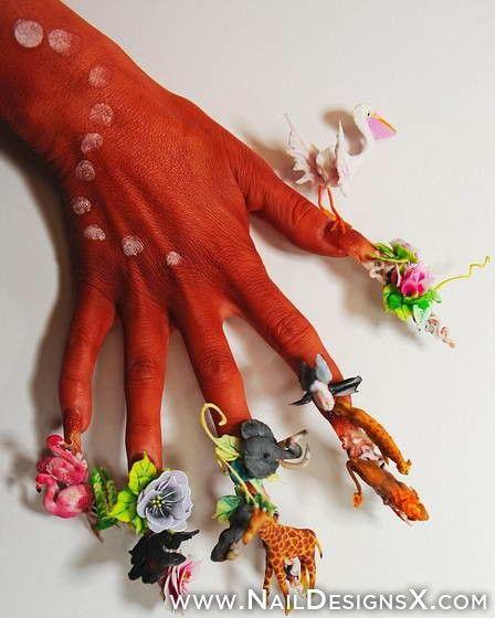 Unusual Nail Art Nail Designs Nail Art Hanine Pinterest