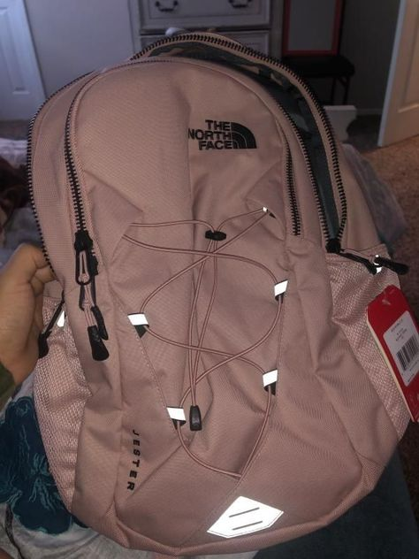 The North Face Women's Jester Luxe Backpack - College-Look North Face Backpack School, North Face Rucksack, Mini Backpack, Laptop Backpack, Kanken Backpack, Laptop Bags, Coach Backpack, Herschel Backpack Outfit, Guess Backpack
