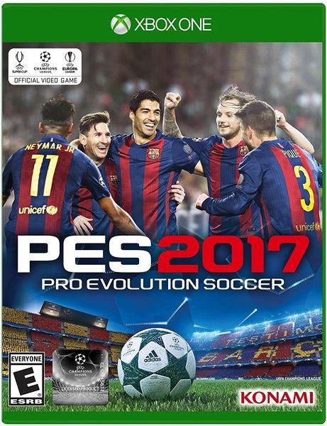 Konami Pro Evolution Soccer 2017 Xbox One Standard Edition Wish In 2020 Pro Evolution Soccer Evolution Soccer Pro Evolution Soccer 2017