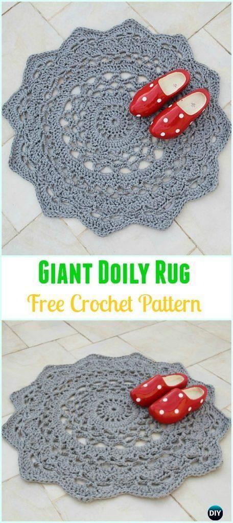 Crochet Giant Doily Rug Free Pattern Crochet Area Rug Ideas Free Patterns Crochet Rug Patterns Free Crochet Rug Patterns Doily Rug