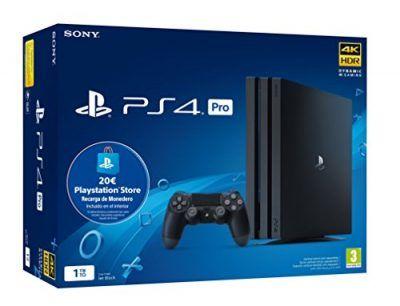 Playstation 4 Pro Ps4 Consola De 1tb 20 Euros Tarjeta