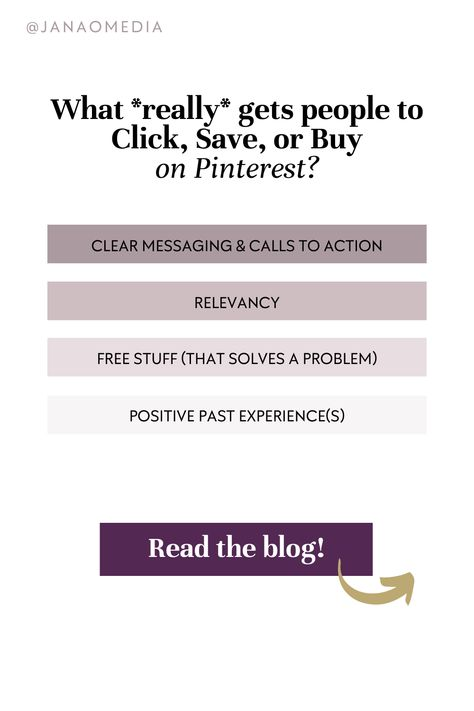 4 Ways to get more clicks (& saves & sales!) on Pinterest!