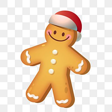 Christmas Cute Gingerbread Man Cookie With Santa Claus Hat Vector Christmas Cookie Clipart Gingerbread Gingerbread Cookie Png And Vector With Transparent Bac Christmas Gingerbread Cookies Cookie Vector Santa Claus Hat
