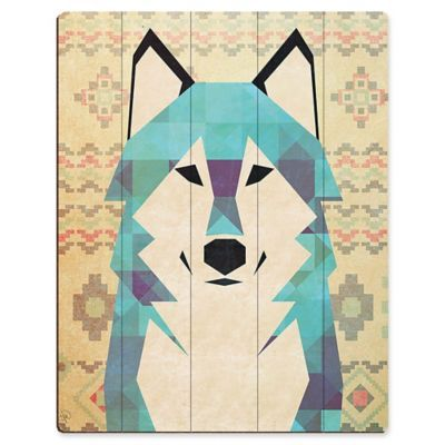 Wolf in the Woods Quilt Pattern PDF Instant Download modern patchwork baby or double size bedding animal grey brown black blue