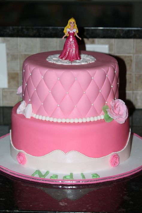 Sleeping Beauty Birthday Cake
