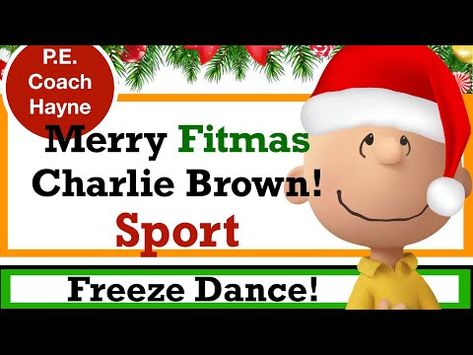 Gym Games For Kids, Pe Games, Karate Games, Physical Education Lessons, Physical Activities, Christmas Songs For Kids, Christmas Videos, Brain Break Videos, Freeze Dance