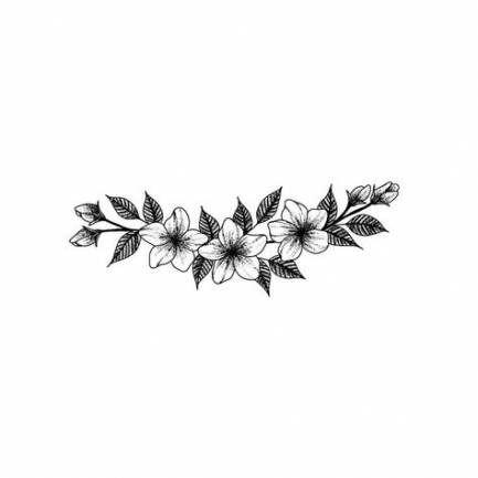 27 Ideas For Flowers Black Tattoo Posts Black Tattoos Tattoos Pattern Tattoo