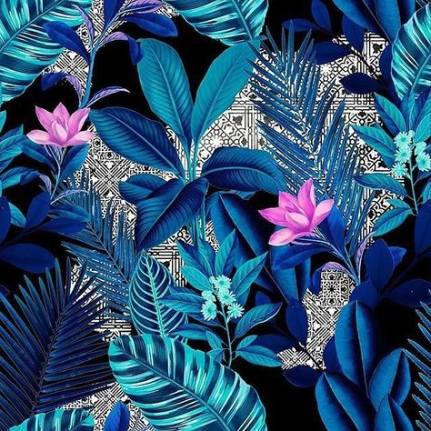 Wallpaper floral pattern tropical prints 55 ideas for 2019