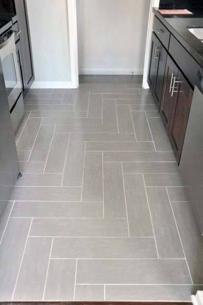 Top 50 Best Kitchen Floor Tile Ideas Flooring Designs Kitchen Floor Tile Patterns Herringbone Tile Floors Kitchen Floor Tile