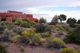 The Painted Desert Inn Is Located In The Northern Section Of