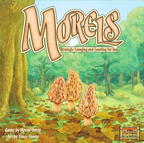 Morels: Strategic Foraging and Feasting for Two game | Two Lanterns Games